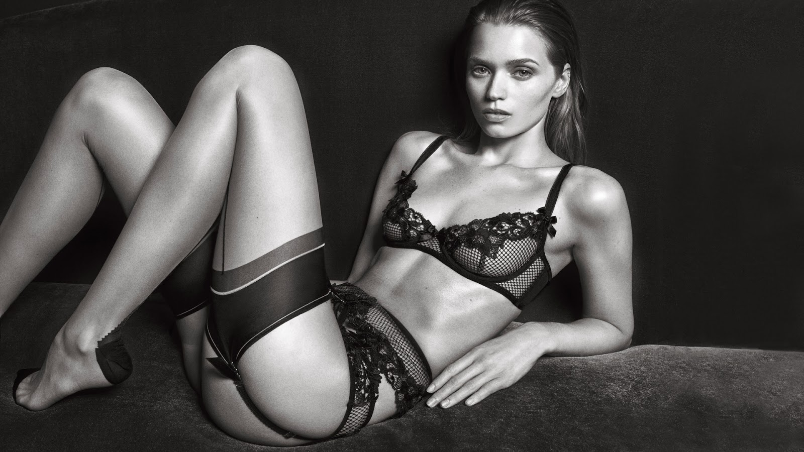 Abbey Lee Kershaw for Agent Provocateur Autumn/Winter 2016 Campaign