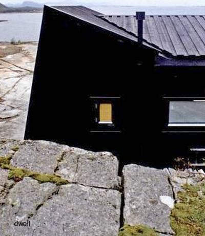 Casa de madera diseño nórdico