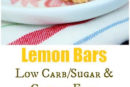Low Carb Lemon Bars (Gluten Free)