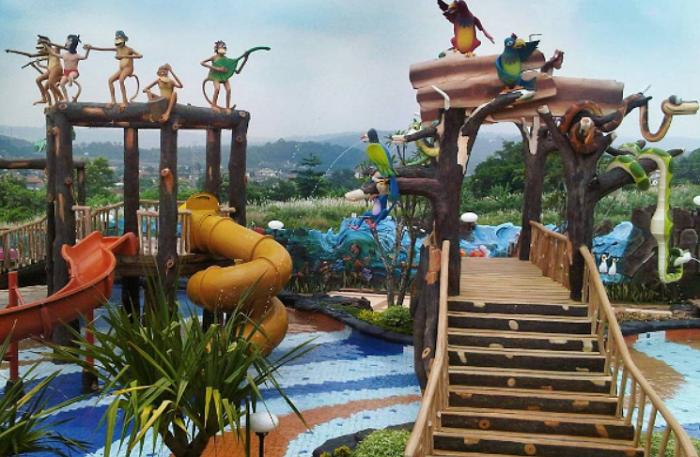 Wisata Jungle Toon Waterpark Semarang
