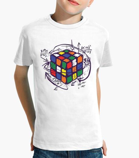 Camisetas Niño - Diseño Cubo de Rubik