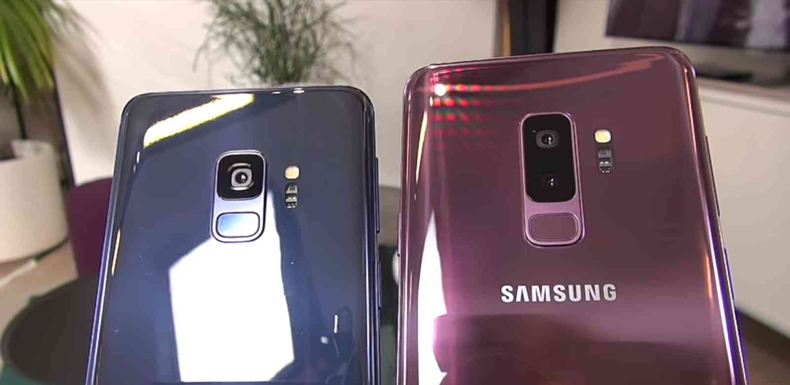 Single and Dual Lens Cameras on the Galaxy S9 and S9 Plus respectively