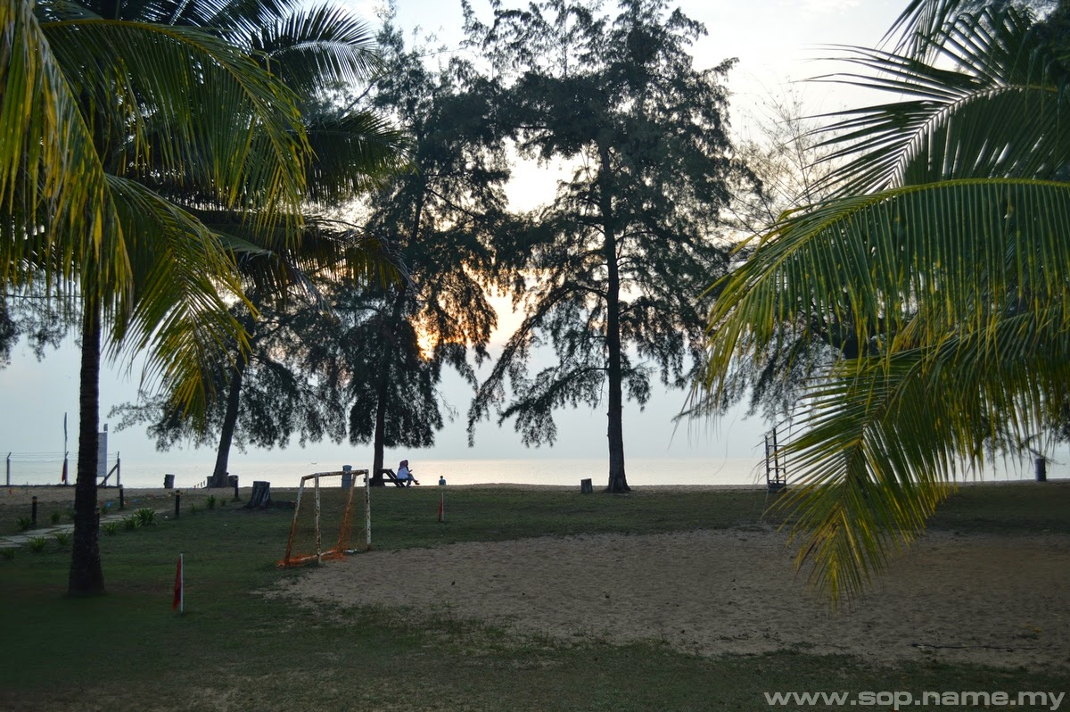 Menginap di Suria Cherating Beach Resort