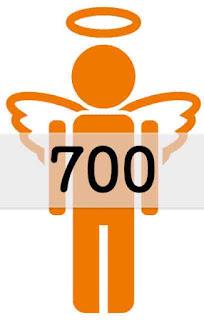 エンジェルナンバー 700