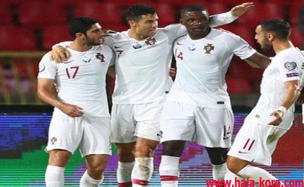 فوز البرتغال علي صربيا من تصفياتها الأوروبية 2020