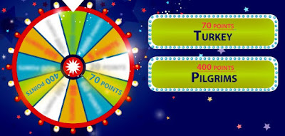 The wheel spins again! Look at the clues to figure out which event we are referring to. image