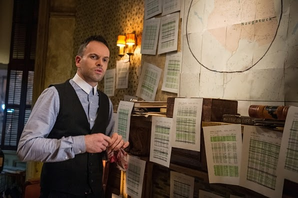 Elementary Sherlock Holmes Jonny Lee Miller in CBS Season 3 Episode 13 Hemlock