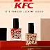 Makan Cat Kuku, KFC Sudah Buat Cat Kuku yang Bisa Dimakan Pelanggan