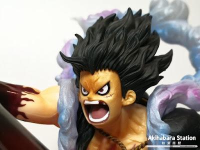 Figuarts Zero Chou Gekisen -Extra Battle- Monkey D. Luffy Snakeman ~ King Cobra ~ de One Piece - Tamashii Nation