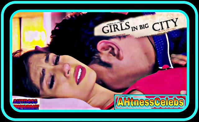 Simran Khan sexy scene - Girls in Big City (2021)