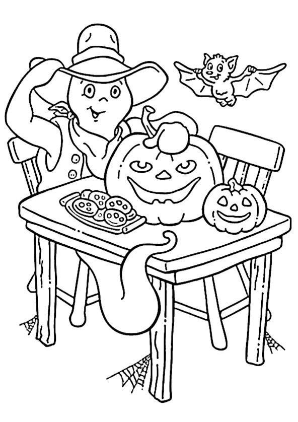 malvorlagen halloween geist  vorlagen zum ausmalen gratis