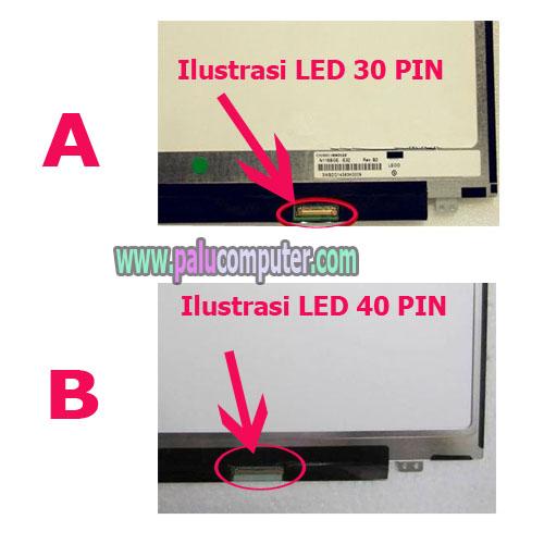 led 40 pin 30 pin