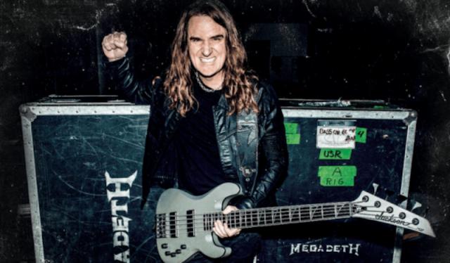David Ellefson começa a gravar novo álbum dos Megadeth esta semana