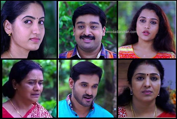 Flowers TV Serial Rathrimazha Actors and Actresses