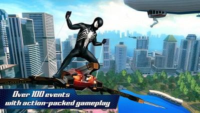 pada kesempatan kali ini admin akan membagikan sebuah game mod apk terbaru yang bergenre  The Amazing Spider-Man 2 v1.2.7d Mod Apk Unlimited Money