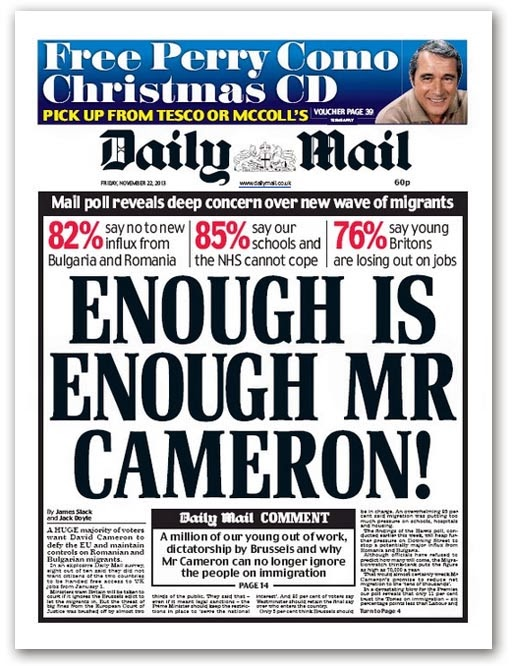 Sarcasm Is A Verb: The Daily Mail freaks out. Again.