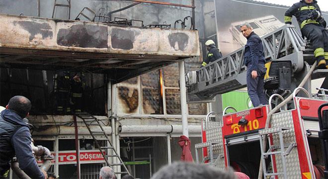 Diyarbakır 2. Sanayi Sitesinde yangın