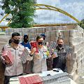 Polda Riau Gagalkan Aksi Penyeludupan Rokok Ilegal Senilai RP 4,9 Milyar di Inhil