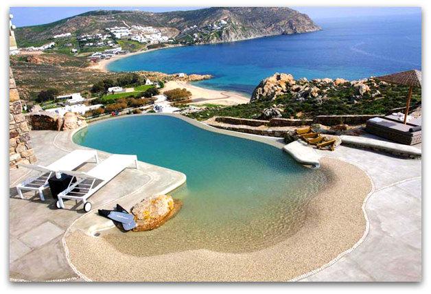 Stone holiday retreat villa in Mykonos, Greece   09artsymphony Stone holiday villa mykonos