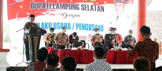 Nanang Ermanto Jamin Kemudahan Investasi di Lampung Selatan
