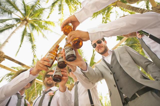 Groomsmen-toasting-wedding-planning-tips-KMich Weddings-PA