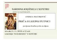 Andrea Matoković - Priča o lijepoj putnici Supetar slike otok Brač Online