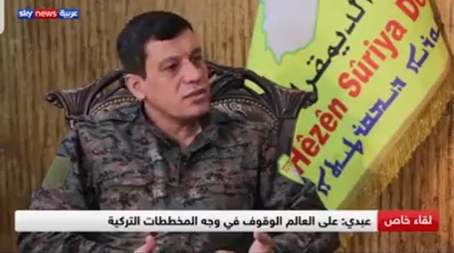 Mezlûm Ebdî: Dagirkeriya Tirk li dijî Kurdên li bakurê Sûriyê guherînek demografîk pêk anî