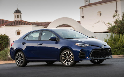 2017 toyota corolla blue widescreen resolution hd wallpaper