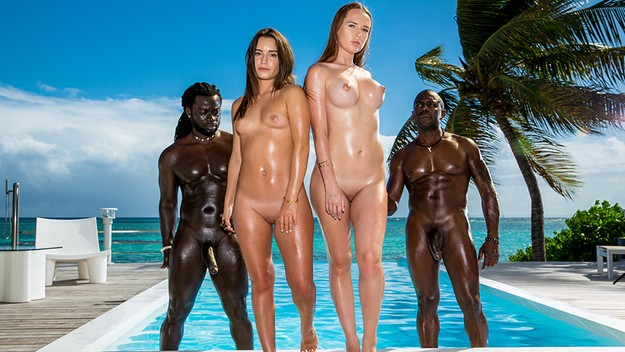 UNCENSORED Blacked – Lana Roy & Kaisa Nord Living in the moment, AV uncensored