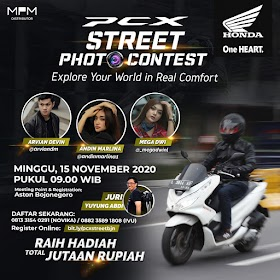 Honda PCX Street Photo Competition