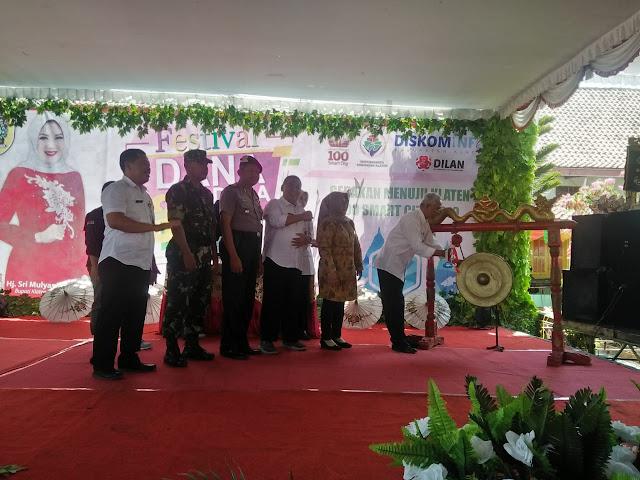 Koramil Karanganom Hadiri Festival Dana Desa Dan Launching Aplikasi Desa Digital