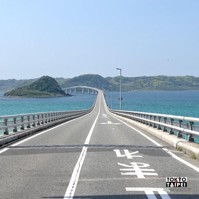 【角島大橋】海天一色下1780公尺大橋筆直又蜿蜒 拼死也要造訪的絕景