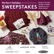 Tea's Perfect Holiday Sweepstakes