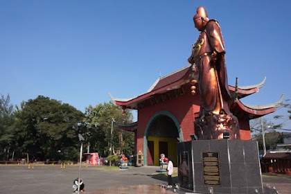 Wisata Klenteng Sam Poo Kong Semarang, Ada Patung Cheng Ho Tertinggi di Dunia