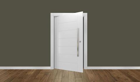 Porta Pivotante Laqueada Premium (Externa)