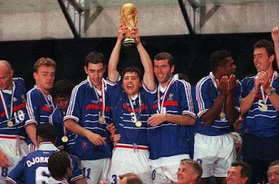 Prancis ketika memenangkan Piala Dunia 1998