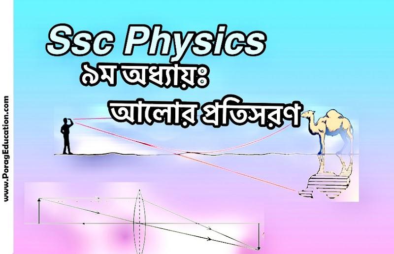 Ssc Physics chapter 9 shortcut note