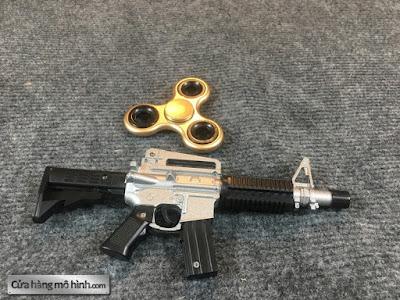 súng mô hình M4A1 mini bắn đạn bi 2