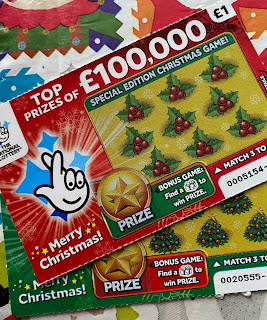 £1 Christmas Scratchcard