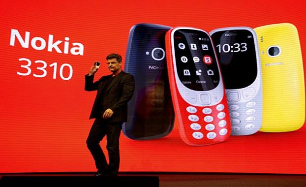 أخيرا الاعلان عن هاتف Nokia 3310 الشهير بمواصفات جديدة و تصميم عصري