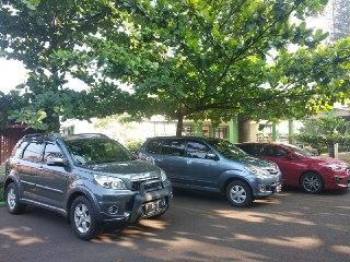 Penerapan Budaya Parkir Kendaraan
