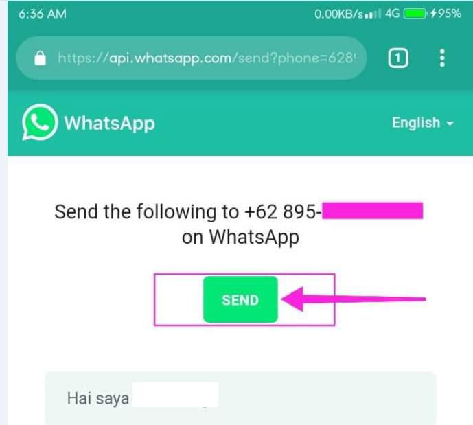 Cara Mengirim Pesan WhatsApp tanpa Perlu Menyimpan Nomernya di Buku Telepon