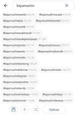 cara hashtag instagram otomatis