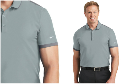 7fbc55627 A stretch woven front joins with a knit back for exceptional ease of  movement and a sleek, high-performance look. Dri-FIT moisture management  technology ...