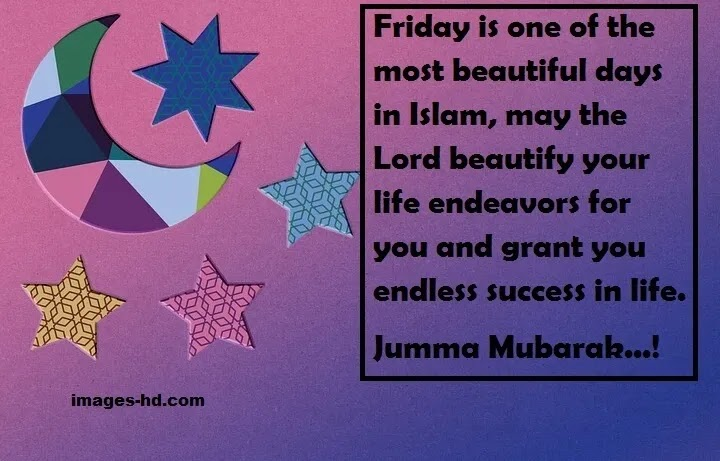 Jumma is the most beautiful day in Islam