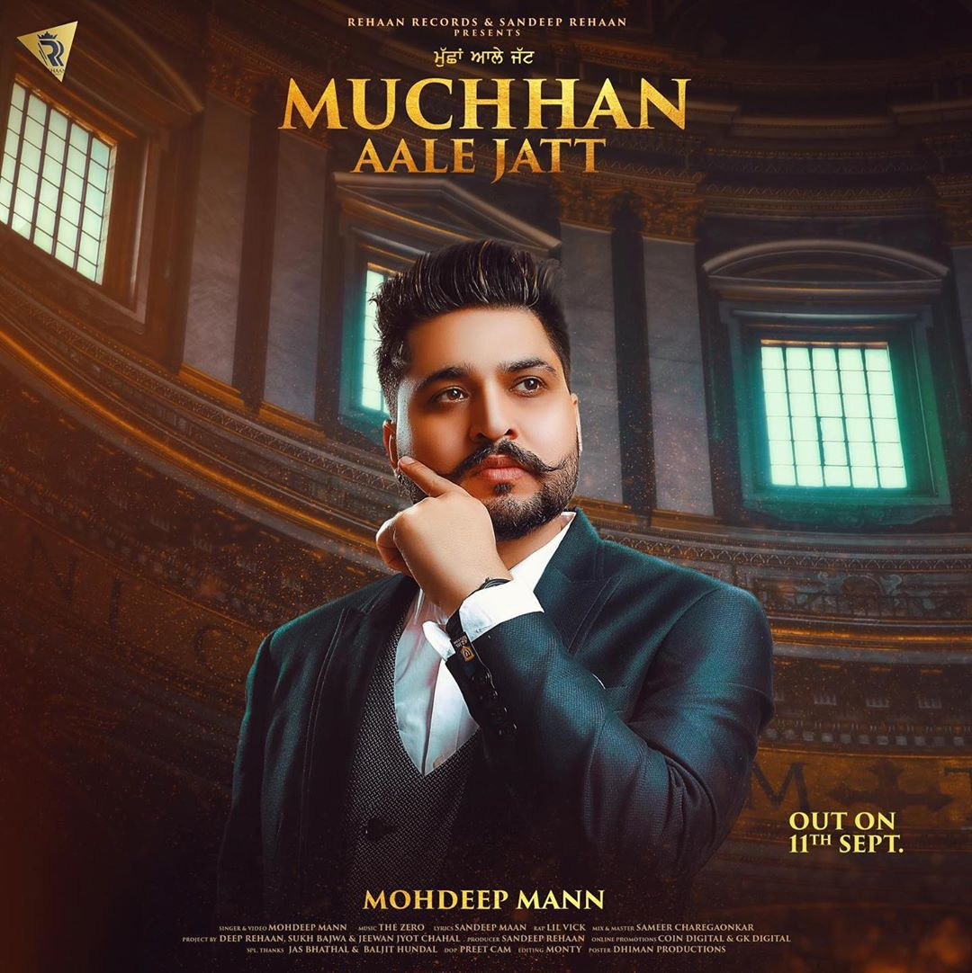 "Mohdeep Mann New Song ""MUCHHAN AALE JATT"