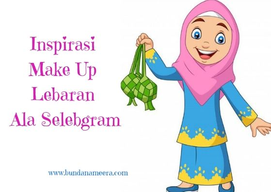 make up simpel lebaran, make up ala selebgram