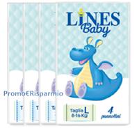 Logo Pannolini Lines Baby omaggio con Amazon