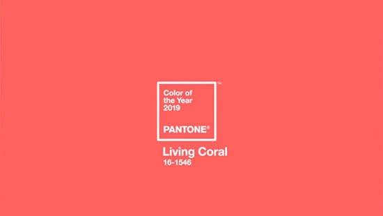 Safari Fusion blog | Living coral | Pantone Color of the Year 2019