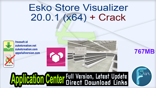 Esko Store Visualizer 20.0.1 (x64) + Crack
